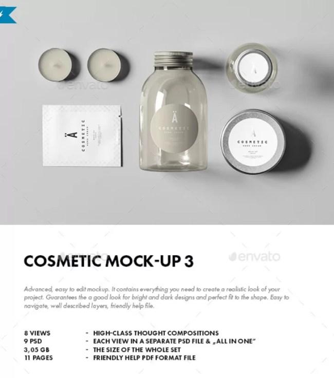 Cosmetic Mockup 3