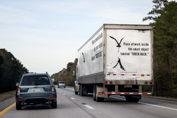 Free Photorealistic Semi Truck Mockup PSD