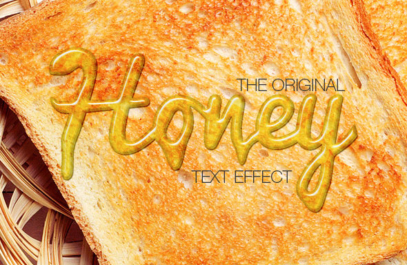 Honey Text Effect