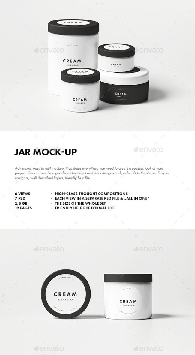 Jar Mockup