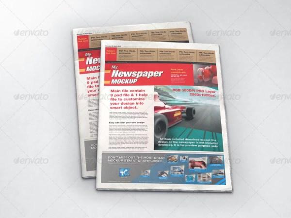 MyNewspaper Mockup