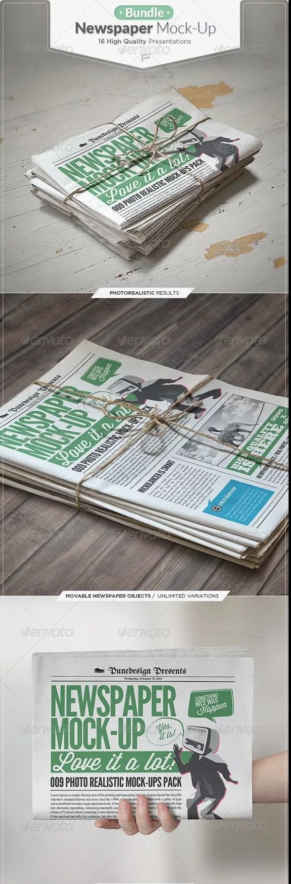 Newspaper-Mockup-Bundle