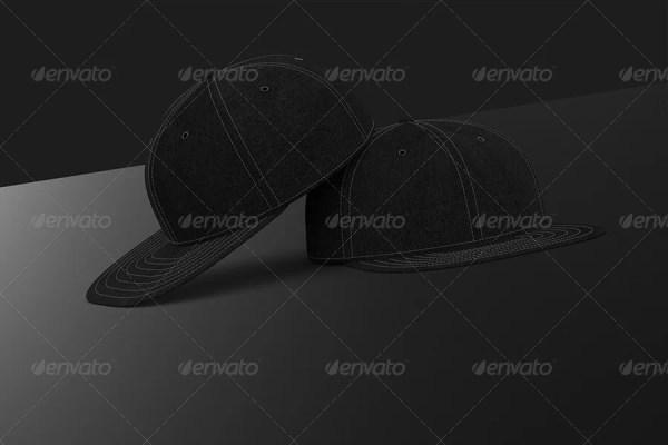 Professional Baseball Cap Mockup
