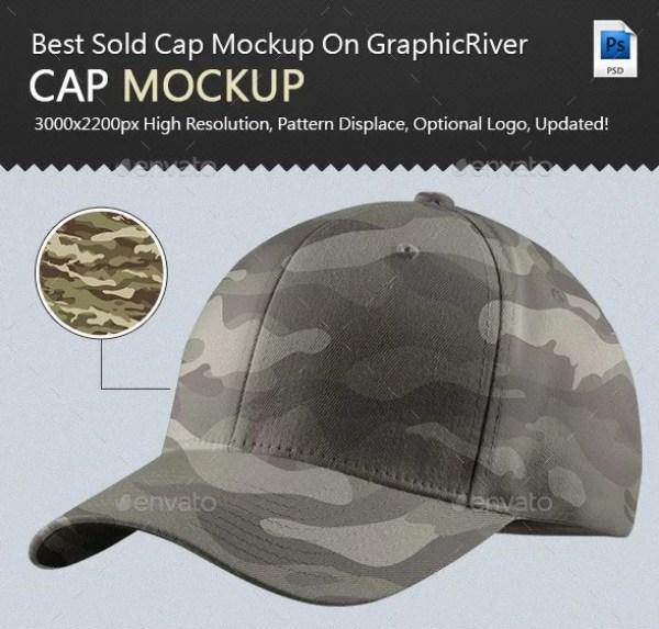 Professional Cap Mockup Ver2.0