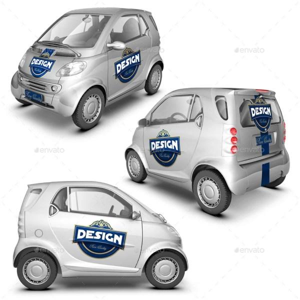 Smart Car Mockup