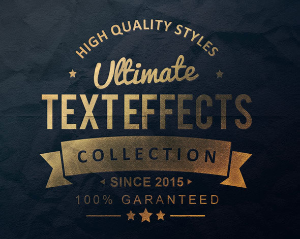 Ultimate Text Effect Collection