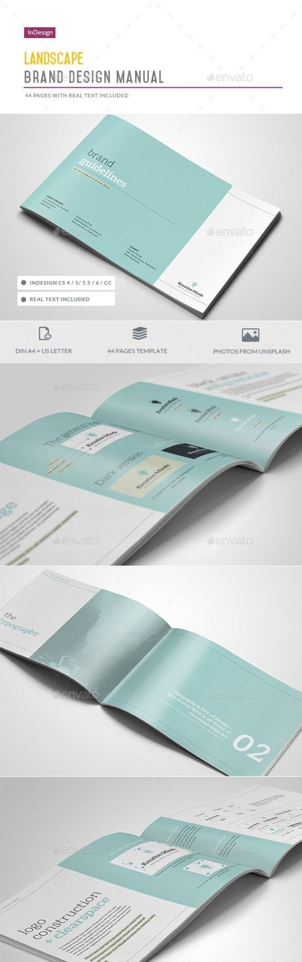Brand Guidelines - 44 Pages
