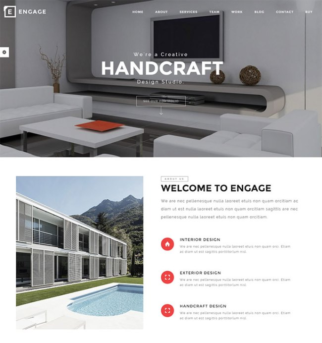 Engage Creative One Page Parallax