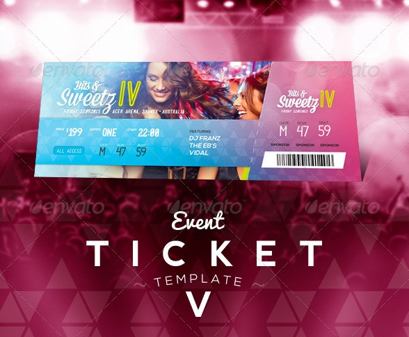 Event Ticketing System Good Design