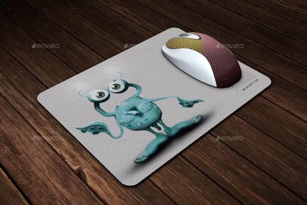 Mouse Pad Mockup - 2
