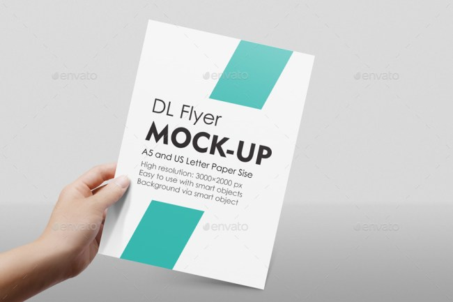 Funky Flyer Mockup Template Photo Resume Ideas Namanasa
