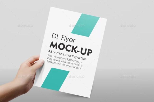 A4 / A5 / Flyer Mockup