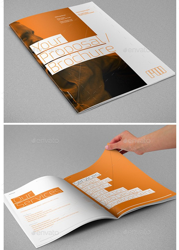 Agency Proposal Template  Proposal Layouts