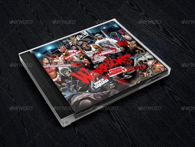 Album CD Cover Mockups