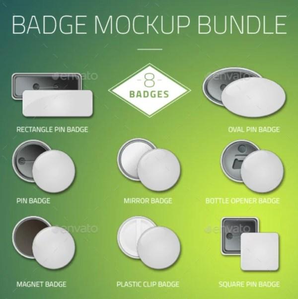 Badge Mockup Bundle