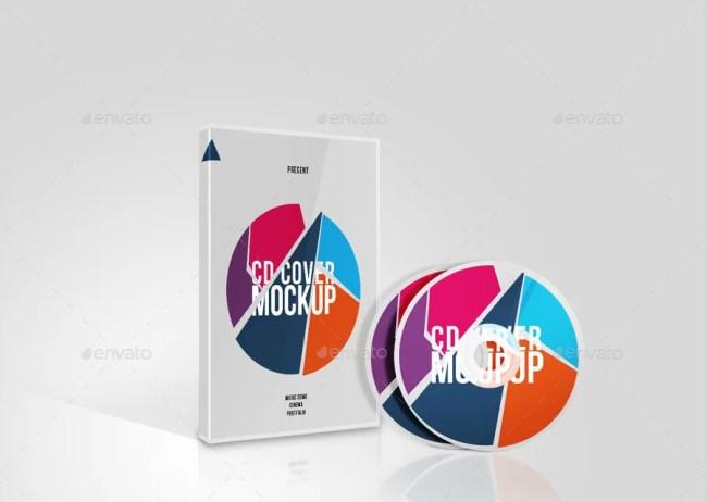 DVD / CD Case Cover Mockup