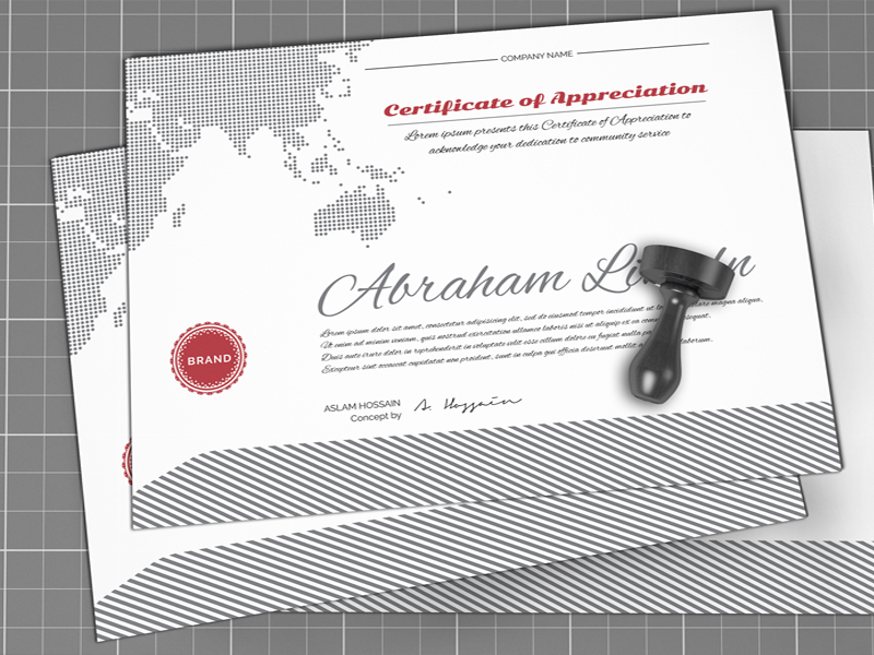 50 diploma and certificate templates in psd word vector eps free certificate templates psd yadclub Image collections