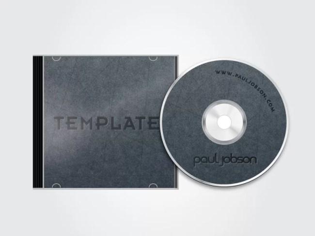 62 best cd dvd mockup psd to showcase album artwork for Cd case artwork template