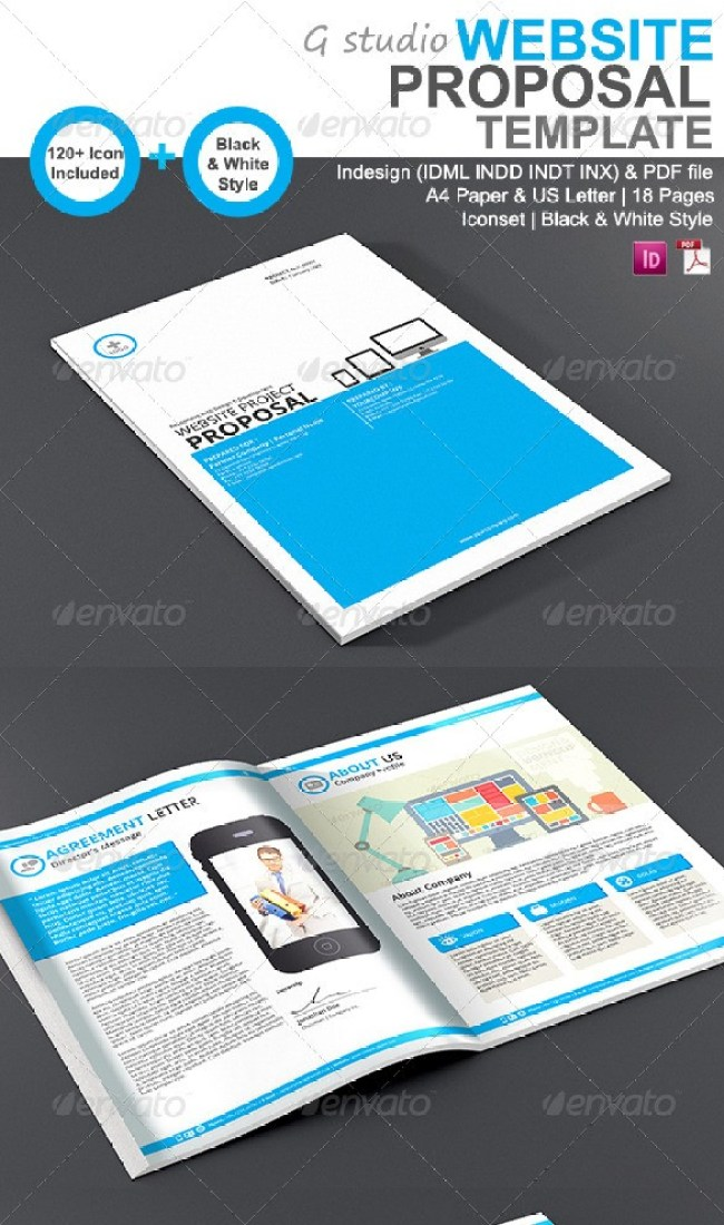 48 Best Business Proposal Templates In Indesign Psd Ms Word