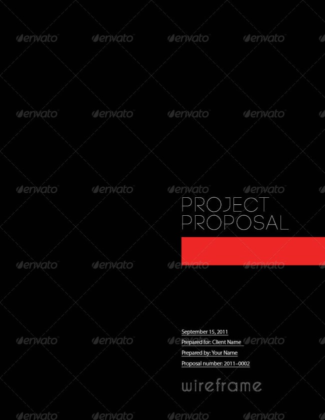 Project Proposal Template Bundle
