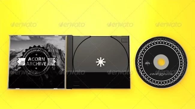 Realistic CD Mockups