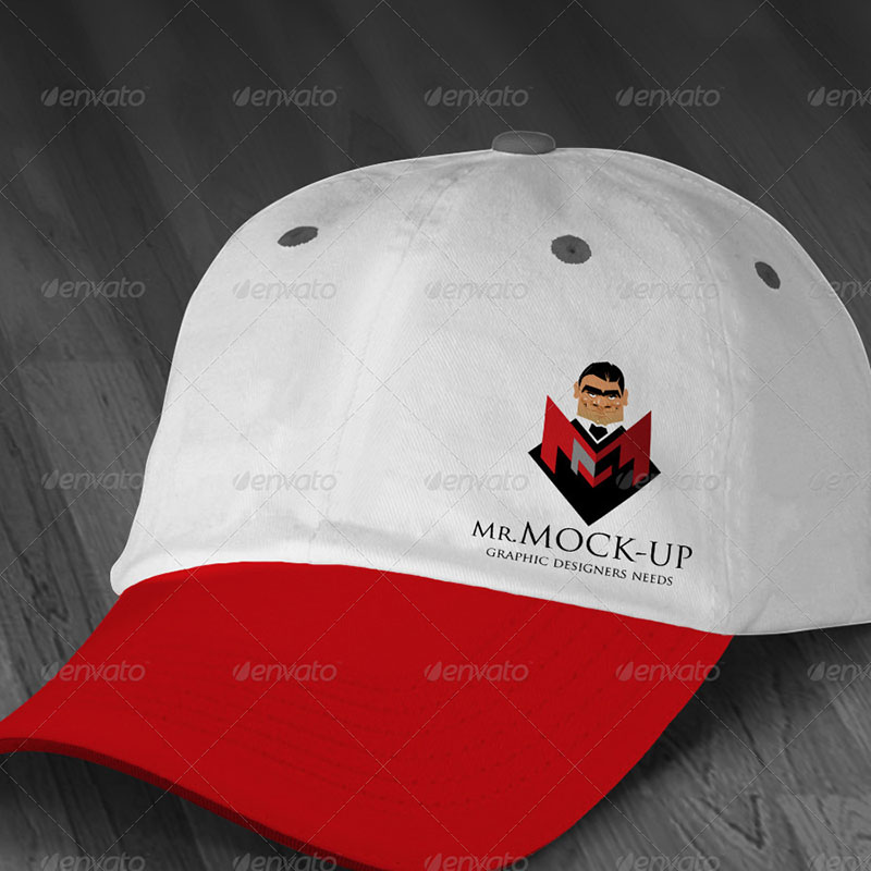 professional snapback template psd
