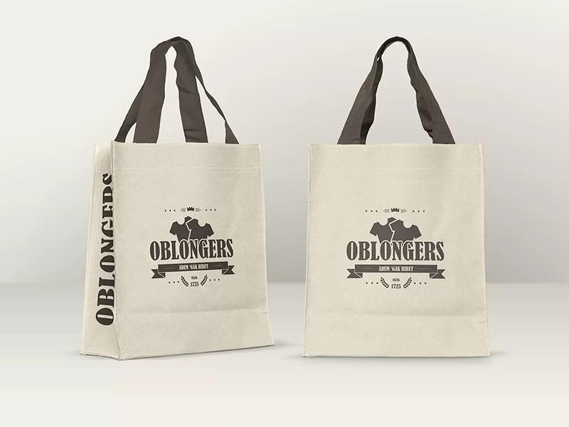 great shopping bag mockup psd