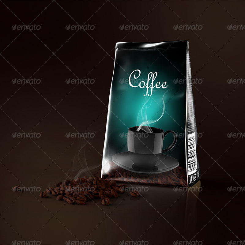 best coffee bag mockup templates
