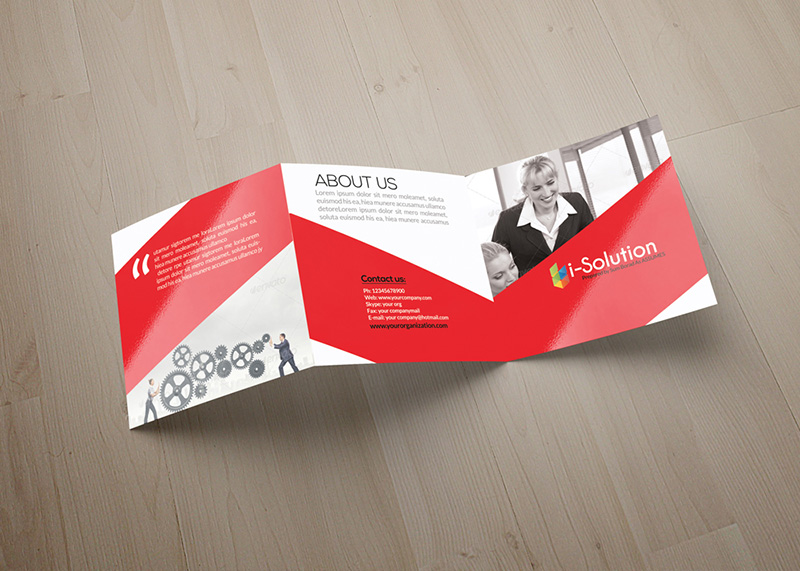 great premium Square Business Flyers Mockups