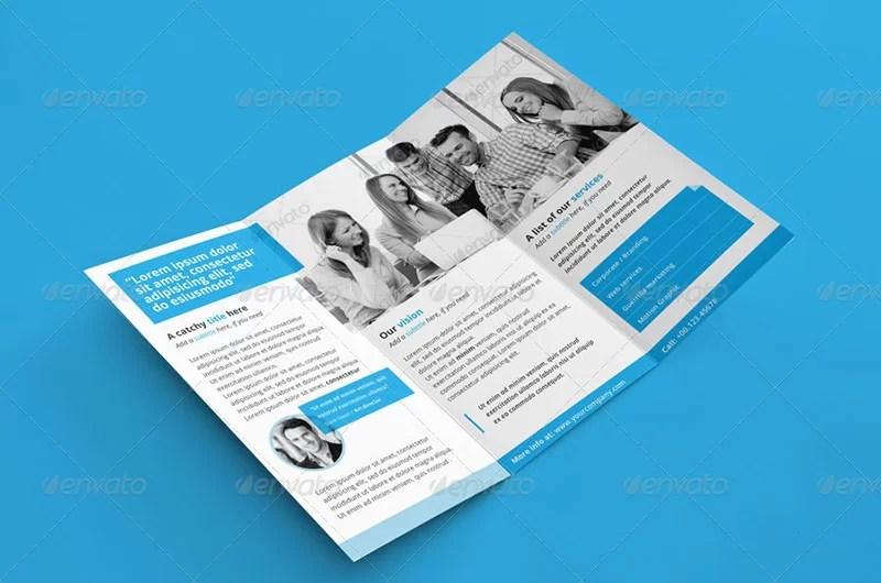 great business brochure design psd template
