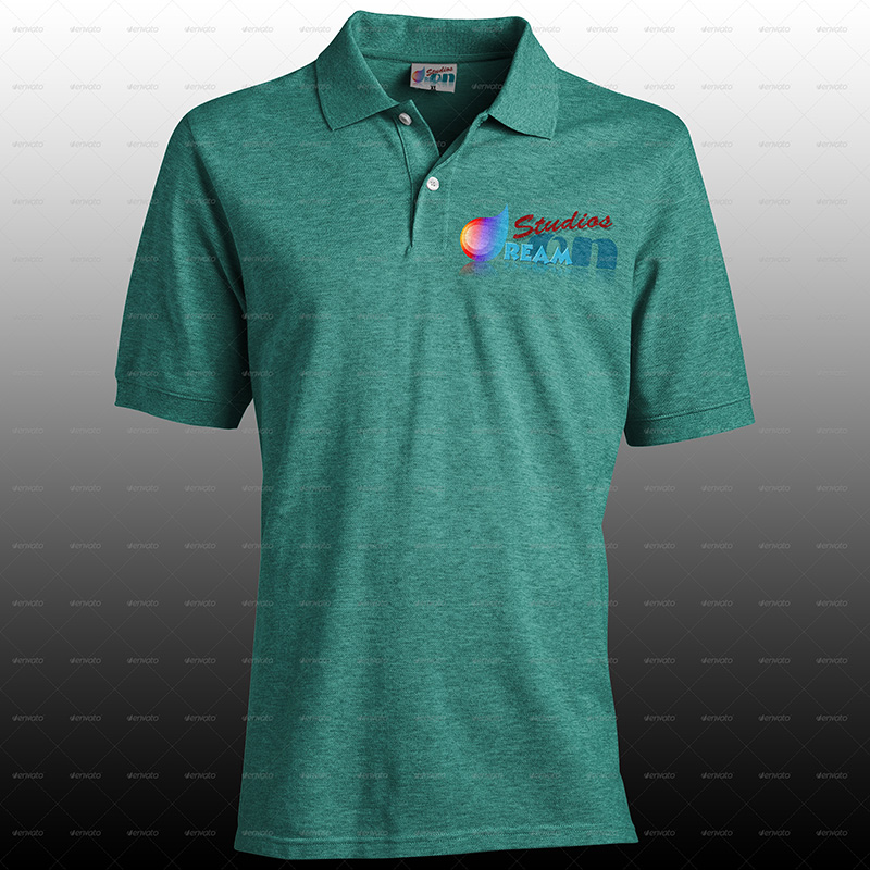 best premium polo shirt mockups psd template