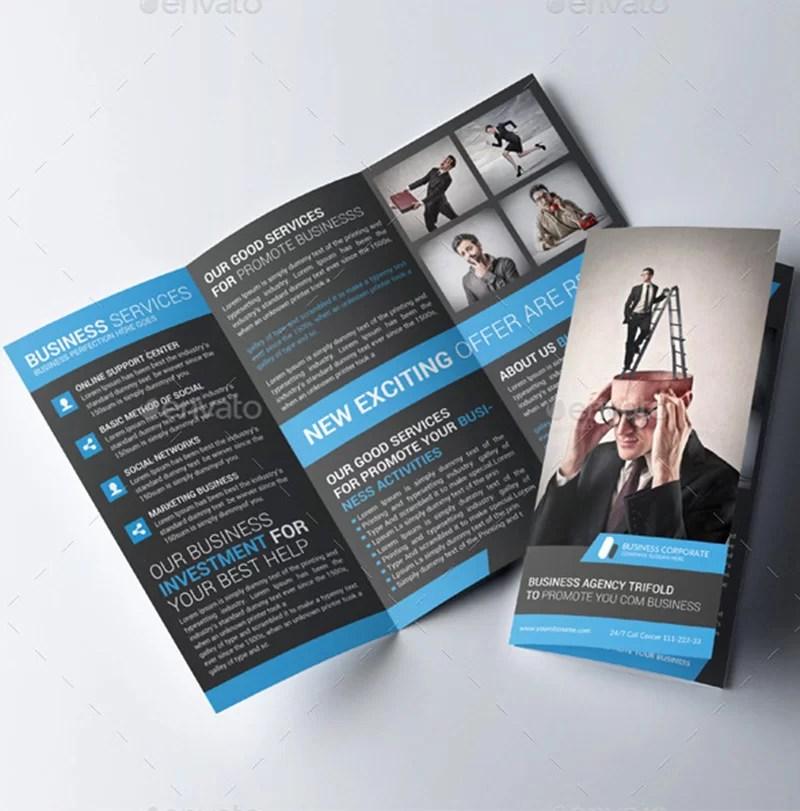 best corporate trifold brochure