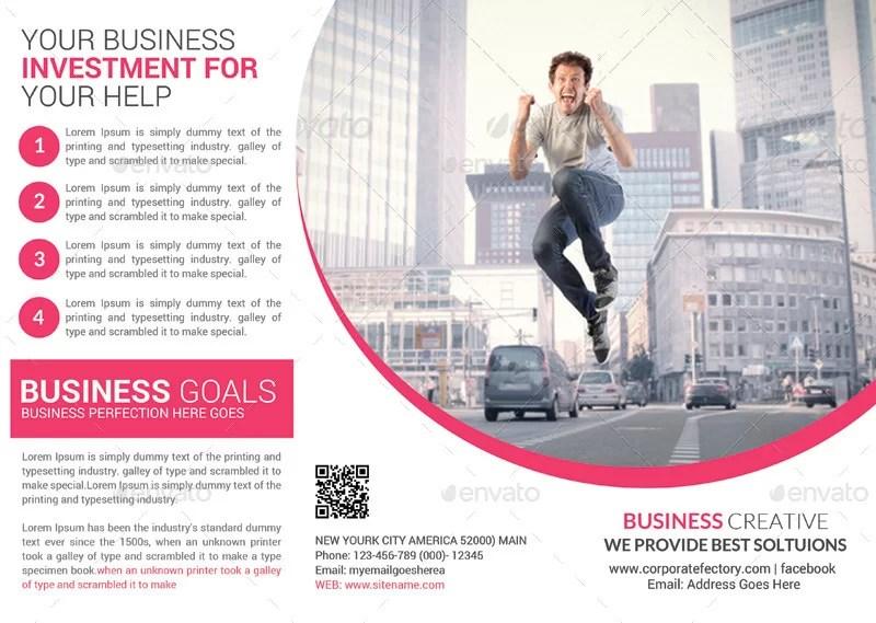 premium business corporate brochure template