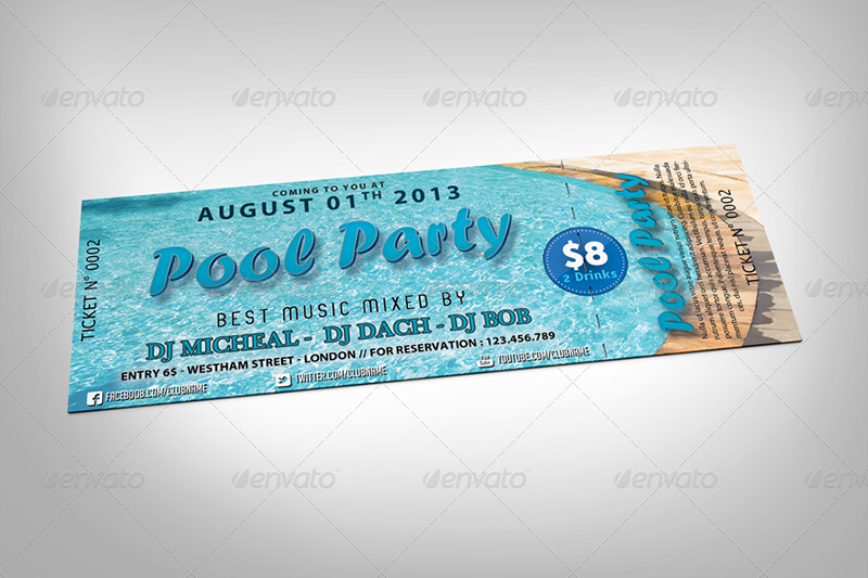 best premium Event Ticket Mockups