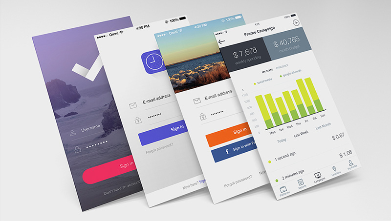 App Design Free Download Psd