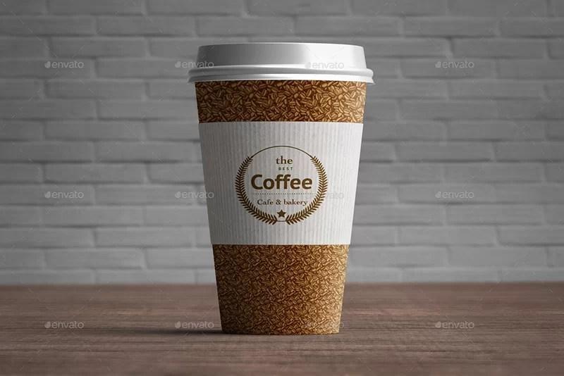 best premium coffee cup mockup