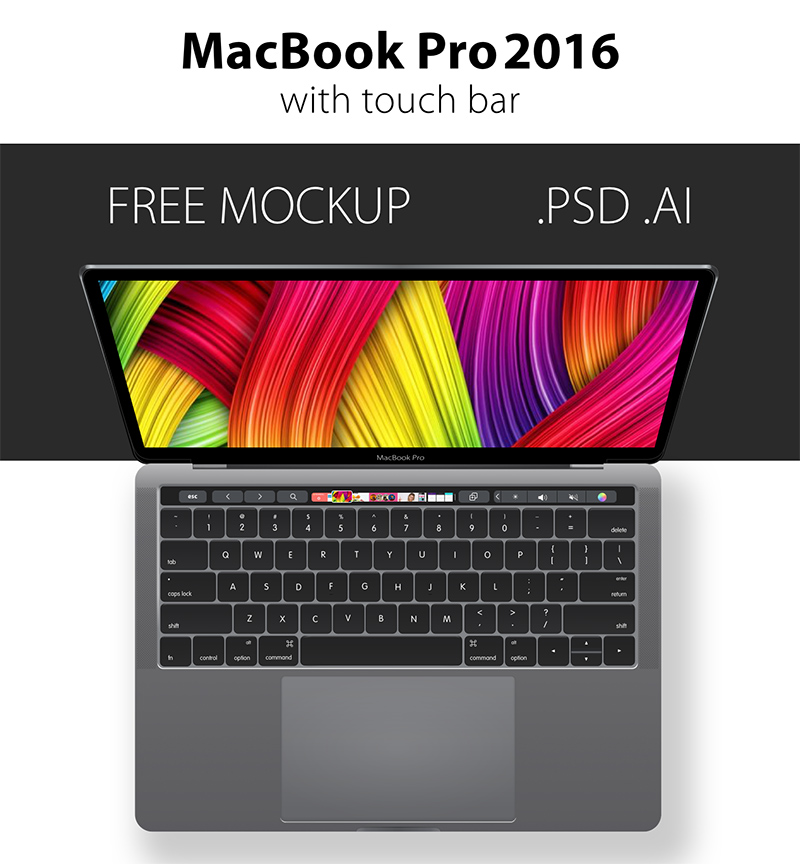 latest MacBook Pro Mockups