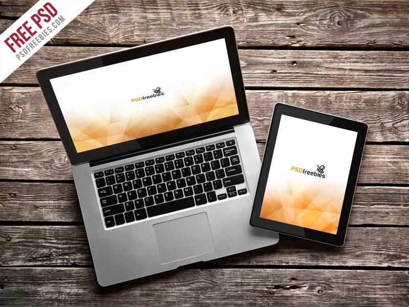 coolest MacBook Pro Mockup free download