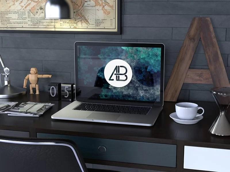nicest MacBook Pro Mockup free download