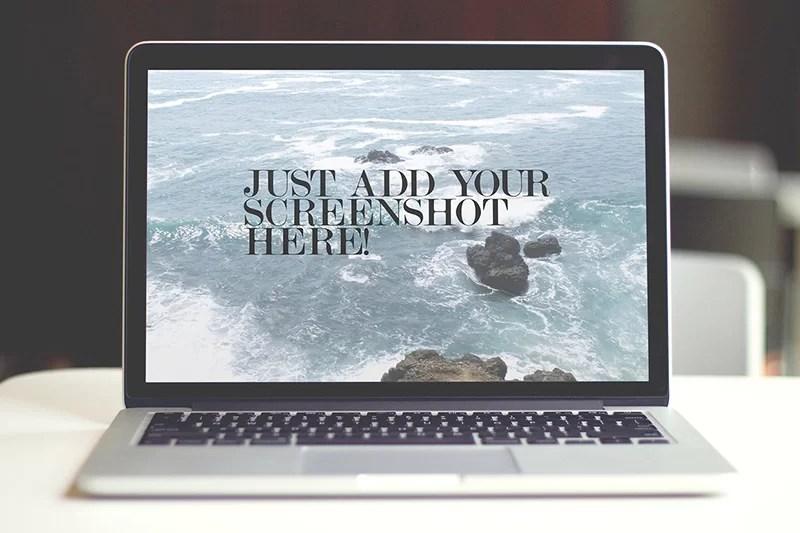 premium mockup macbook pro