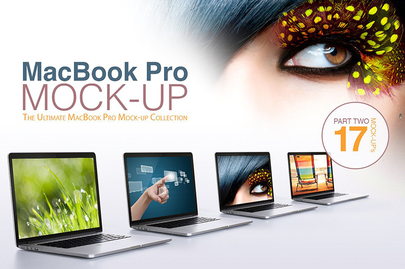 macbook pro premium template