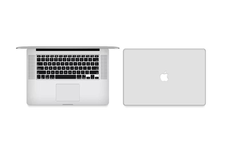 macbook pro retina psd template