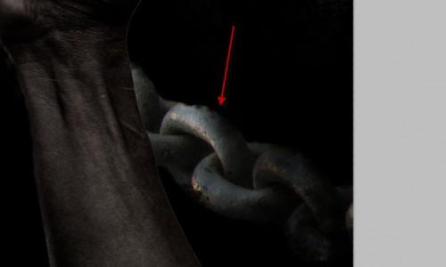 3 Cole 500x300 Crie um braço preso com Efeito mancha de sangue no Photoshop