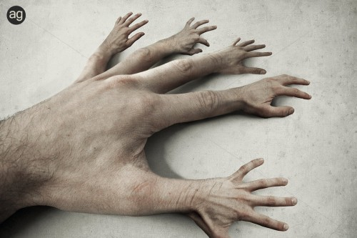 25 fingers by blackwhiters d1usa55 500x333 Imagination Unleashed: Best of PSD Vault DeviantART Group – Vol. 21