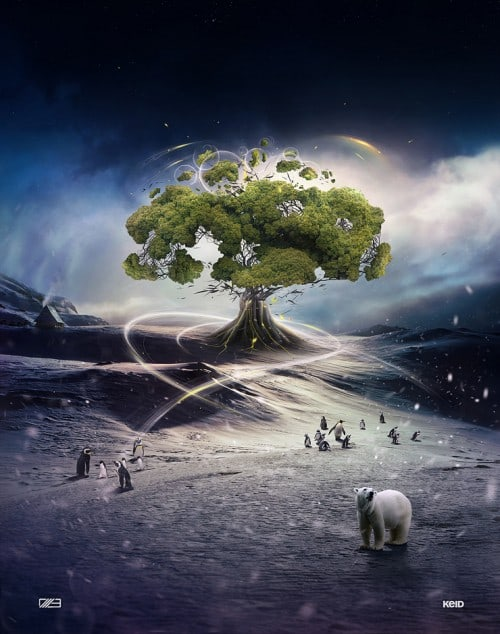 Tree of Life by Keid 500x634 Imagination Unleashed: Best of PSD Vault DeviantART Group – Vol. 21
