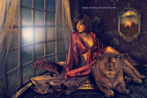 her guardian by irinama d36jo1x 500x333 Imagination Unleashed: Best of PSD Vault DeviantART Group – Vol. 21