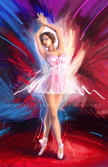 Baila by MichaelO 454x700 Imagination Unleashed: Best of PSD Vault DeviantART Group – Vol. 28