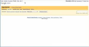 No more feed with google reader