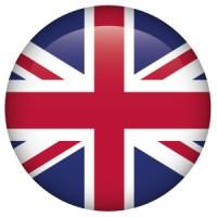 Pseudomyxoma Survivor UK Flag button