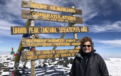 I had cytoreduction and HIPEC and now I've climbed Mount Kilimanjaro!